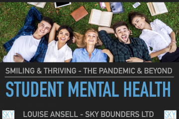 Smiling and Thriving Student Mental Health Sky Bounders
